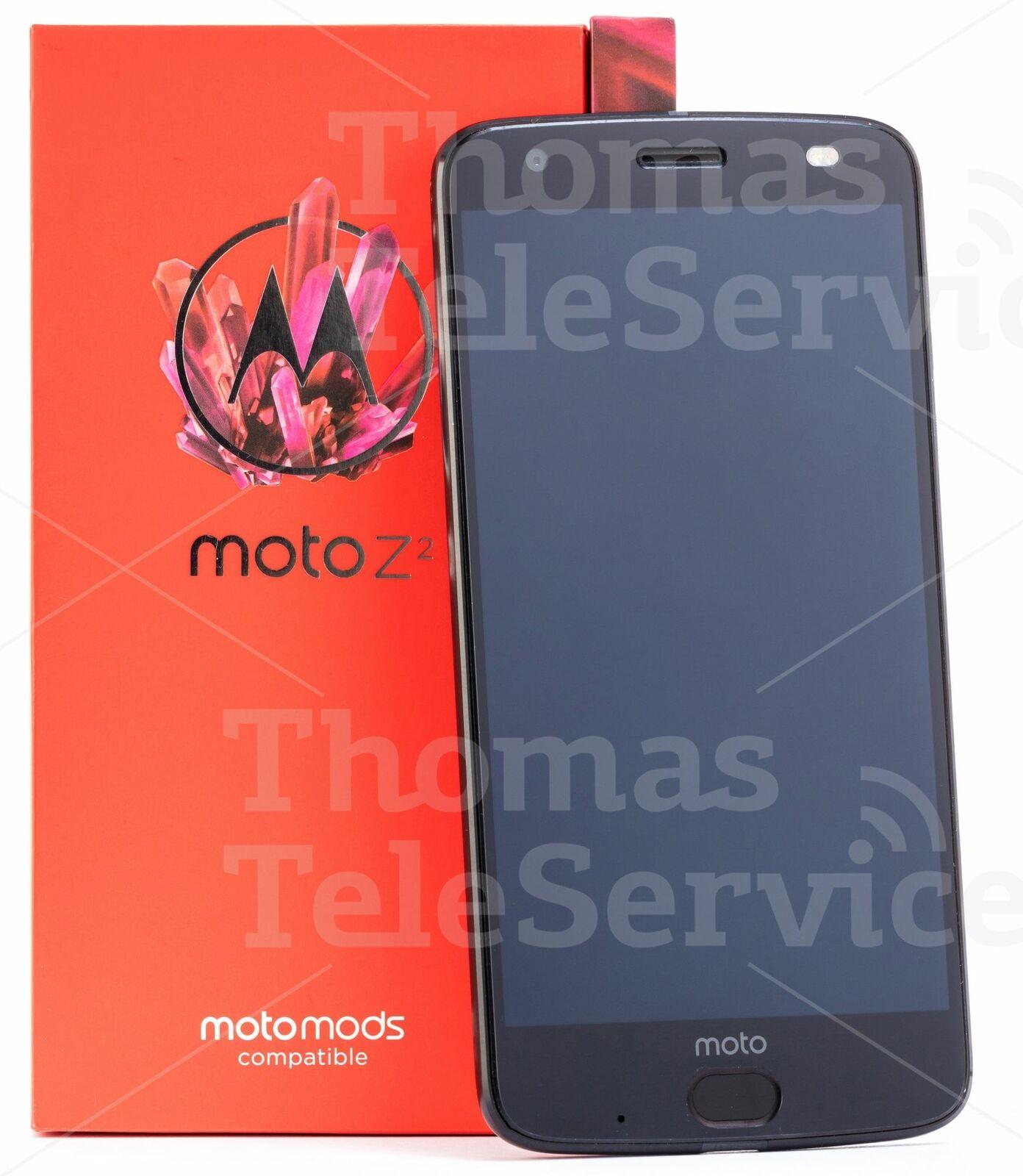 Motorola Moto Z2 Force Smartphone Handy Android Dual-Kamera Black Schwarz