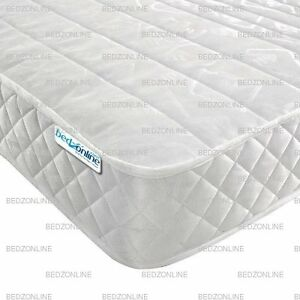 Image Is Loading Micro Quilt Mattress In Luxury Damask 15cm Deep