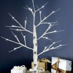 Led Birch Twig Tree White Brown Pre Lit Christmas Celebration Mains Battery Ebay