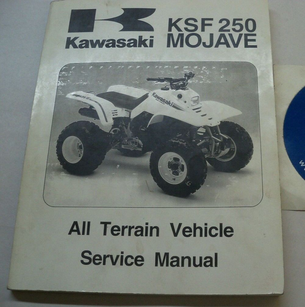 medium resolution of norton secured powered by verisign genuine kawasaki service manual ksf250 ksf 250 mojave
