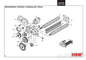 HSM Classic 102.2 102cc 102sc Paper Shredder Oem 48 12