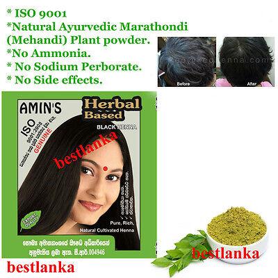 herbal based hair color