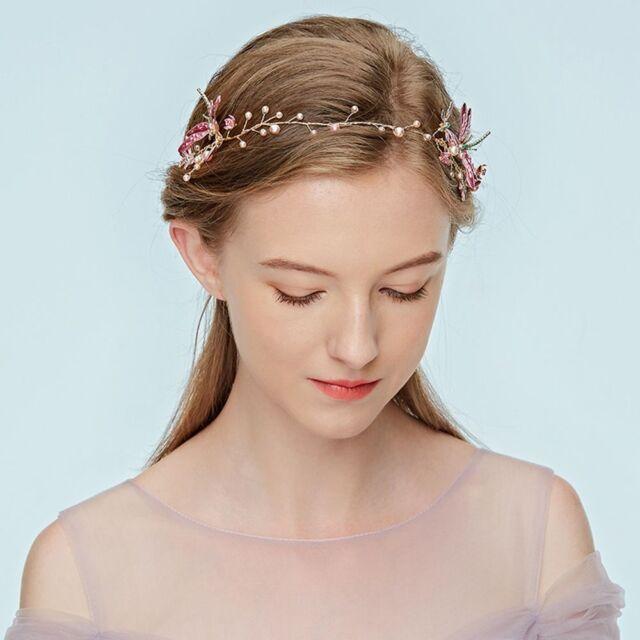 headband wedding jewelry pearl