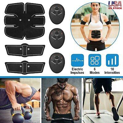Smart Abs Stimulator Training Fitness Gear Muscle Abdominal Toning Belt Trainer Ebay
