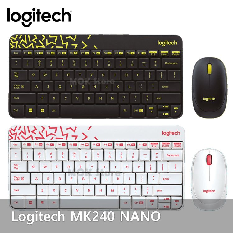 Image result for Logitech MK 240- Nano