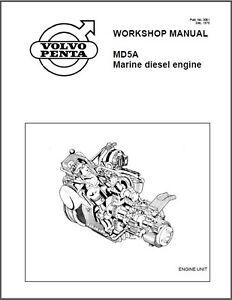 VOLVO PENTA TMD22 TAMD22 MD22 MARINE ENGINES WORKSHOP