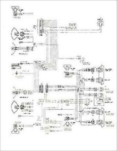 1977 Camaro and LT RS and Z28 Foldout Wiring Diagram 77