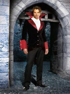 Sexy Vampire Costume Men : vampire, costume, Dreamgirl, Adult, Men's, Halloween, Gothic, Vampire, Costume