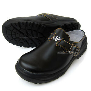 kitchen shoes womens outdoor layout women chef cowhide leather limited safety cook image is loading