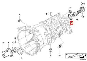 BMW Extension Housing Transmission Shaft Seal 45X57X9