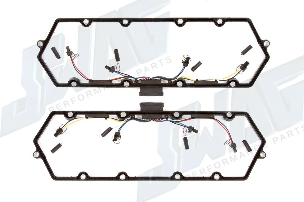 99 03 Ford 7 3 7 3l Ford Powerstrokesel Valve Cover Gasket Set W Harness