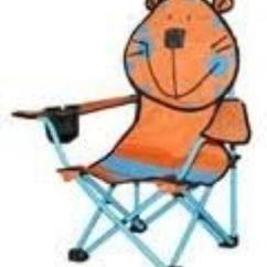 Folding Sports Chair Plywood Lounge Plans Cpi Zoo Buddies Kids Camp Ebay
