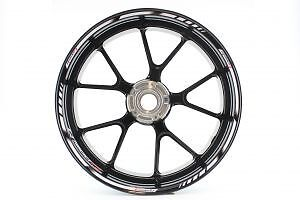 Rimstriping BMW R1200R White Wheel Stripes Motorcycle