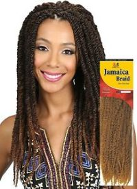 Bobbi Boss Jamaica Braid Crochet Marley Hair Color 1 (2 ...