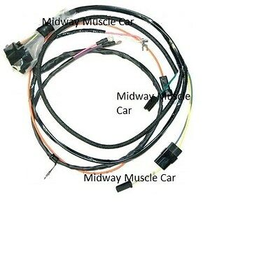engine wiring harness 65 Chevy Chevelle Malibu SS 283 327