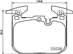 Car Brake Pads Vehicle Parts & Accessories Mintex Front
