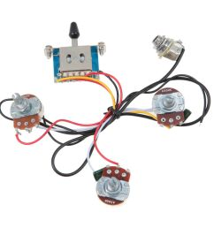 details about lefty strat guitar wiring harness 5 way blade switch 500k full size pots [ 1200 x 1200 Pixel ]