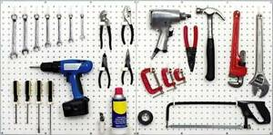 Image result for peg board organizer for childrens tools