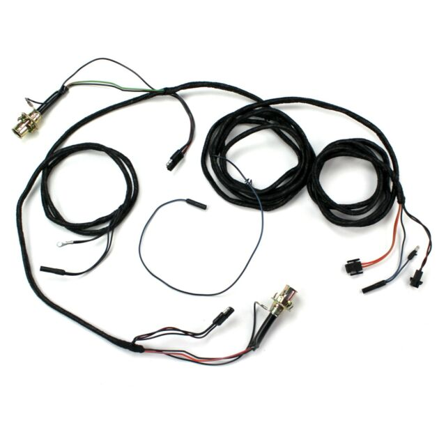 Mustang Tail Light Wiring Harness Fastback w/ Sockets 1968