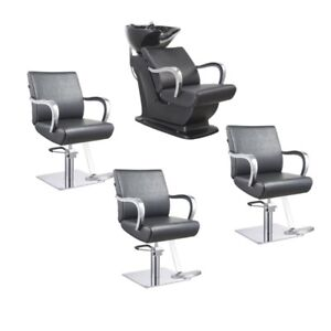 salon chairs for sale high stool chair ebay beauty package deal equipment image is loading