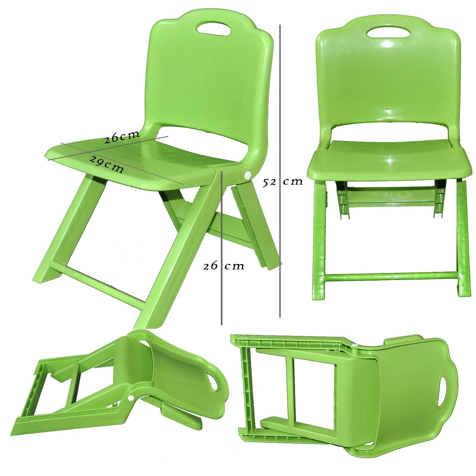 Plastic Toddler Chairs Strong Kids Children Plastic Folding Chair Home Picnic