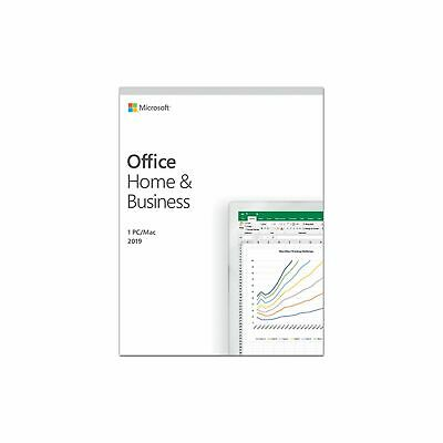 MS Office Home and business 2019 Word Excel Power outlook