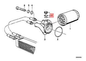 Genuine BMW E30 Z1 Cabrio Coupe Oil Filter Housing Plug