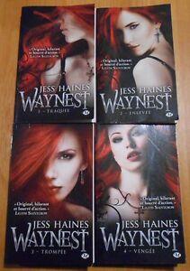 Details Sur Lot 4 Livres Milady Romance Bit Lit Serie Waynest Tome 1 2 3 4 Jess Haines