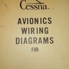 Avionics Wiring Diagrams Automotive Schematics 2 For Cessna 402b Sn 0367 Ebay Image Is Loading