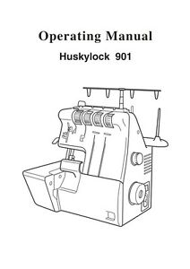 Viking Huskylock 901 * Choice of: USER'S GUIDE or Service