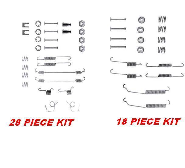 Delphi Rear Brake Shoe Fitting Spring Kit LY1110 PEUGEOT