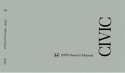 1995 Honda Civic Sedan Owners Manual User Guide Reference