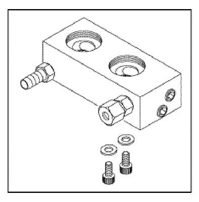Midmark Ritter M11/M11D/M9/M9D Manifold Block Assembly RPI