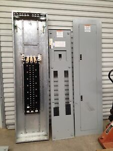 Furnace Wiring Diagram For Ge Ge Breaker Box 42 Pole 3 Phase 400amp 600v Ebay