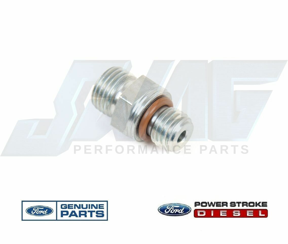 hight resolution of 03 10 ford 6 0 6 0l powerstroke diesel fuel filter m12 fitting for supply return
