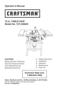 Craftsman 137218250