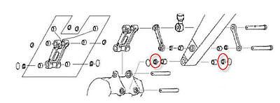 2445R220D6 Dipper Arm Seal fits Kobelco SK220, SK250