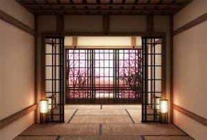 japanese traditional interior backdrops props backdrop