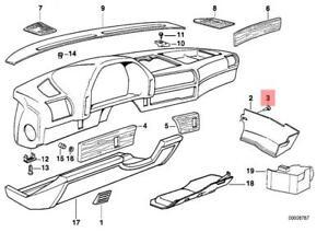 Genuine BMW E12 E23 E24 E28 E30 E32 E34 E36 Clip Seat Rail