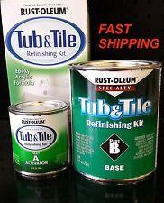 rust oleum 7860519 tub and tile refinishing kit