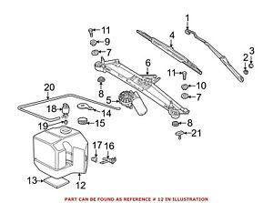 For BMW Genuine Washer Fluid Reservoir Front 61608383546