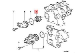 Genuine BMW E34 E36 E38 E39 Sedan Engine Coolant