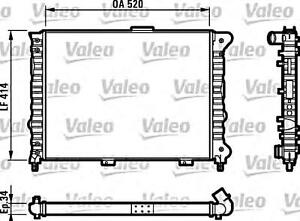 VALEO Engine Cooling Radiator Fits ALFA ROMEO 156 932