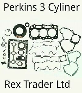 Perkins 400,403-21. 103-10, Perama M30, 3 Cyl Gasket kit