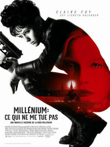 Millenium : Ce Qui Ne Me Tue Pas : millenium, Poster, Folded, 3/16x63in, Millenium:, Kills, (2018), Claire