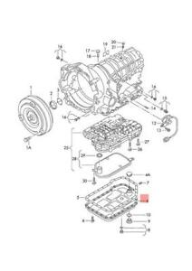 Genuine Transmission Oil Sump AUDI VW Audi A4 Avant S4