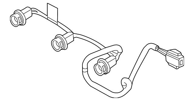 Ford 9L3Z13A625A Genuine OEM Factory Original Wire Harness