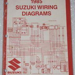 50cc Atv Wiring Diagram Basketball Half Court Suzuki Diagrams All Data 1985 Motorcycle And Electrical Manual 85 Lt 250r Rebuild