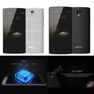 "HOMTOM HT7 5.5"" WCDMA Smartphone Android 5.1 Quad Core 1GB+8GB Dual Cameras W4LG"