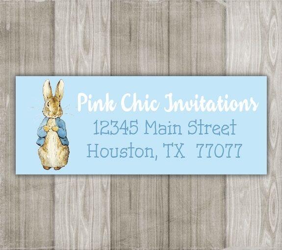 peter rabbit return address